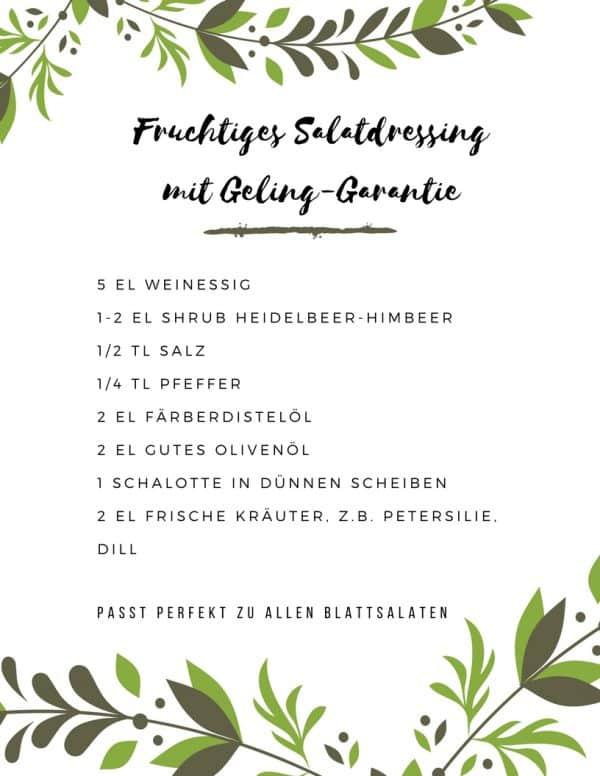Rezept Salatdressing