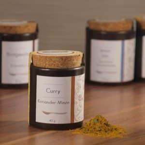 Curry Koriander-Minze