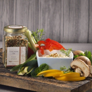 Gute-Laune-Dip Kräuter mit Knoblauch