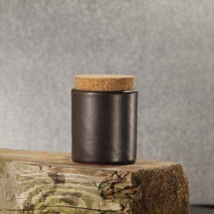 Keramiktöpfchen mit Korkdeckel